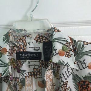 Pelle Pelle Marc Buchanan Hawaiian Men's shirt